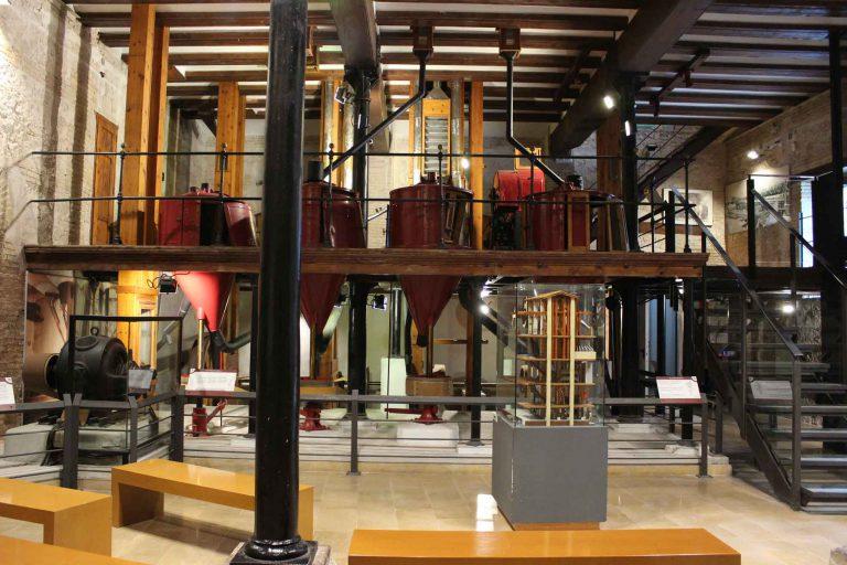 Hall del museo