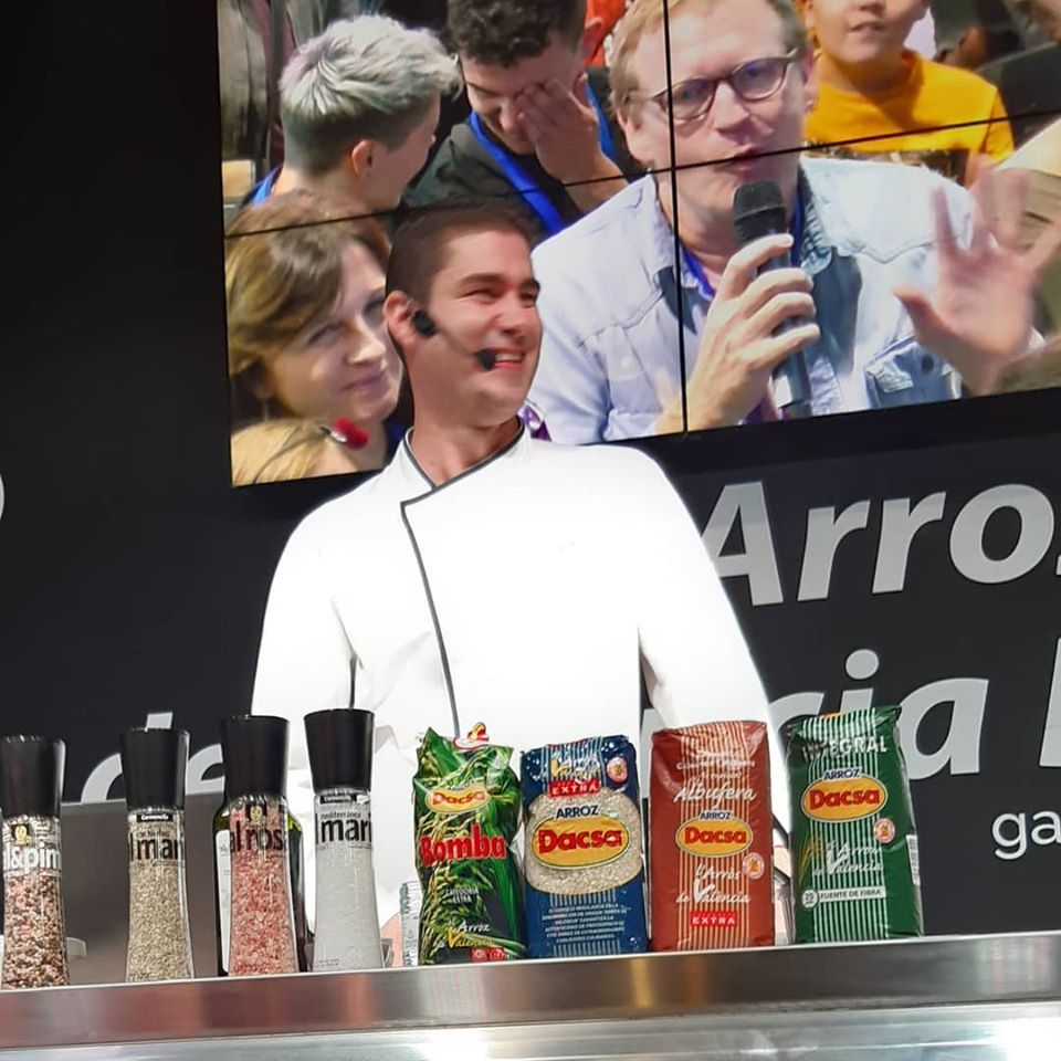 Luis Arrufat, Basque Culinary Center