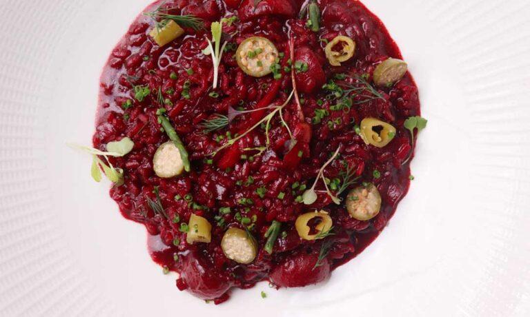 Arroz de verduras con remolacha // por Pablo Chirivella, de Tavella